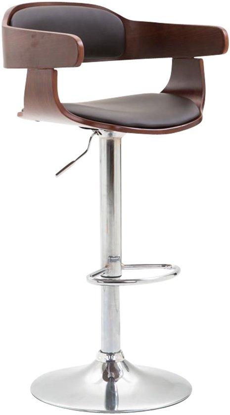 Clp Bogota - Barkruk - Kunstleer - Bekleding kleur: bruin