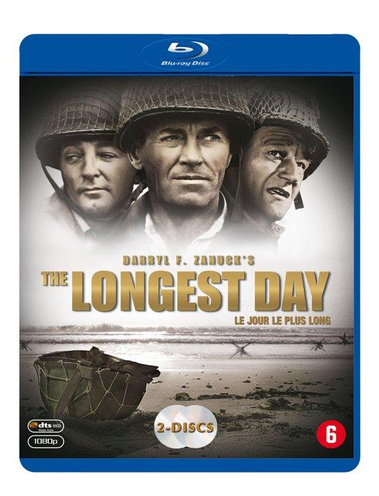 DVD cover van The Longest Day (Blu-ray)