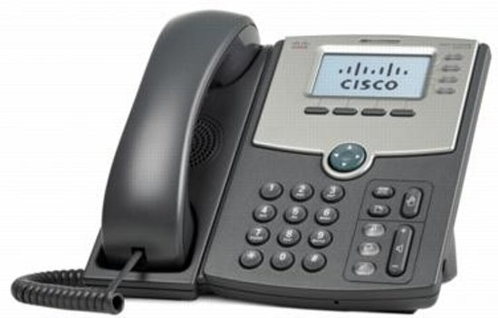 Cisco SPA514G Gigabit - VOIP telefoon - Zwart