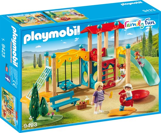 Afbeelding van PLAYMOBIL  Grote speeltuin - 9423 speelgoed