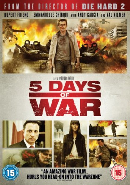 Cover van de film '5 Days Of War'