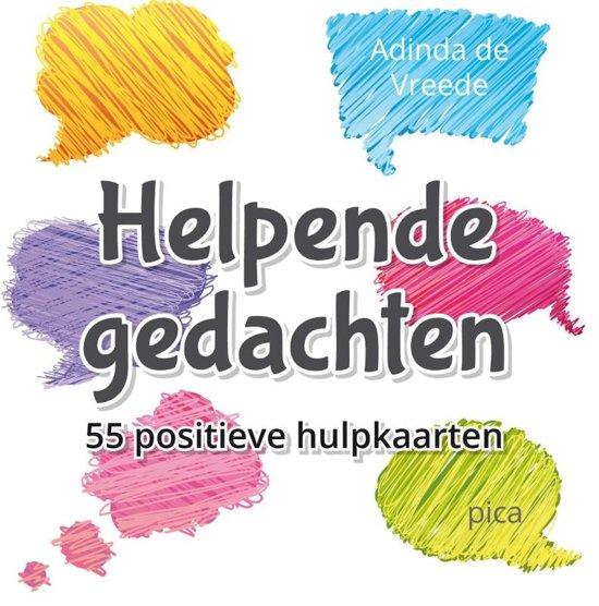 Boek cover Helpende gedachten van Adinda de Vreede (Onbekend)