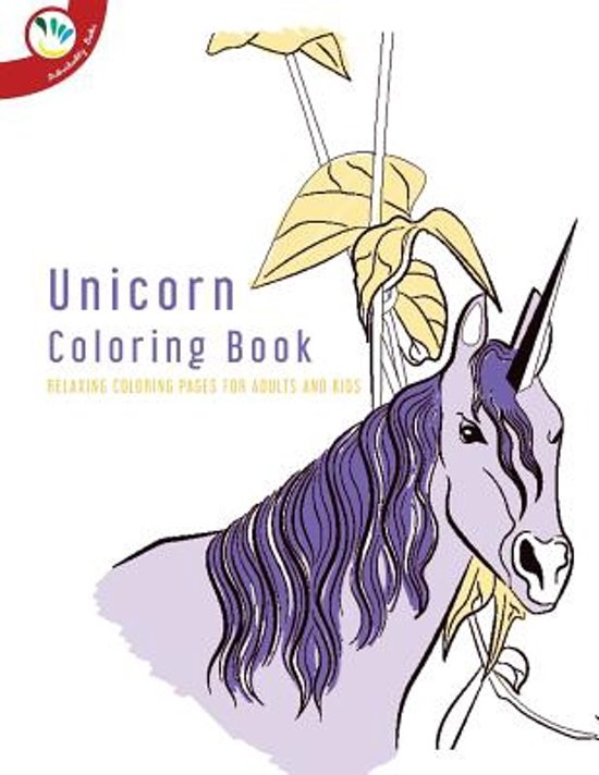 Bol Com Unicorn Coloring Book Relaxing Coloring Pages For Adults