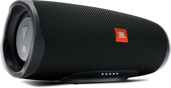 JBL Charge 4 - Bluetooth Speaker - Zwart