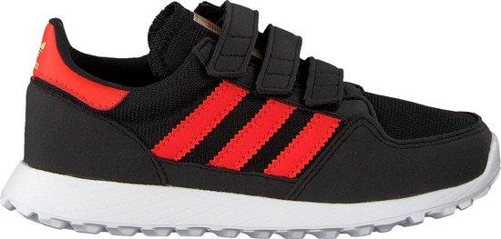 8ac434beca9 bol.com | Adidas Jongens Sneakers Forest Grove Cf C - Zwart - Maat 33