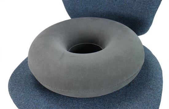Bol obbomed opblaasbaar zitkussen ringvorm kussen