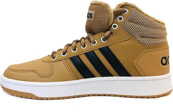 Sneakers Hoops 2 0 Licht Schoenen Adidas Mid Bruin 40 wSaCqn