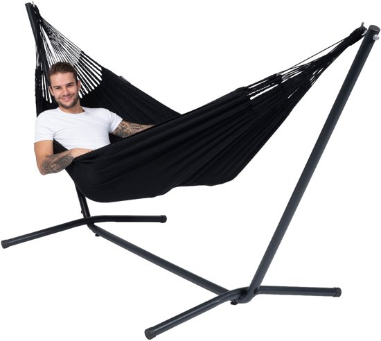 Tropilex Hammock Set Single 'Easy & Classic' black