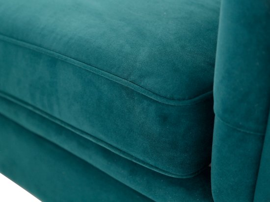 "Lanterfant Sofa Henry â"" Velvet â"" Mooie knoopdetails â"" Forest Green"