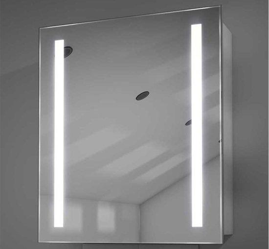 bol.com | Badkamer spiegelkast met verlichting links rechts en ...