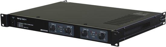 JB Systems AMP 150.4 4.0kanalen Bedraad Zwart audio versterker