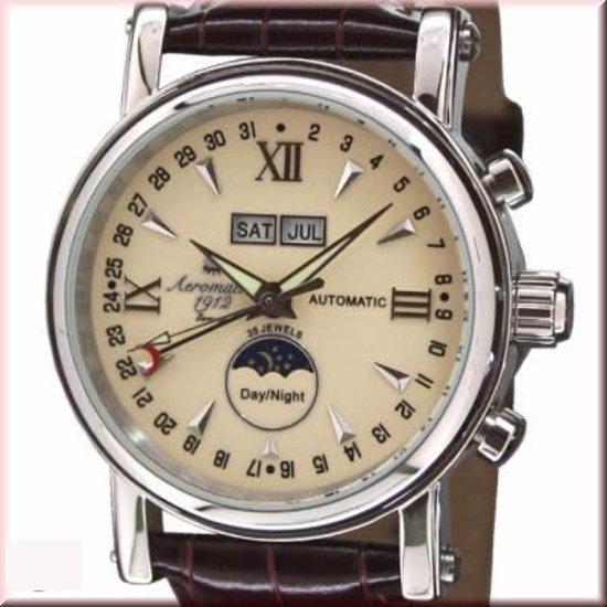 Aeromatic 1912 A1406 - Horloge - 37 mm - Automatisch uurwerk