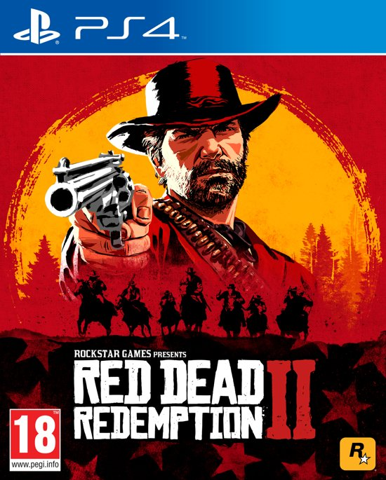 Cover van de game Red Dead Redemption 2 - PS4