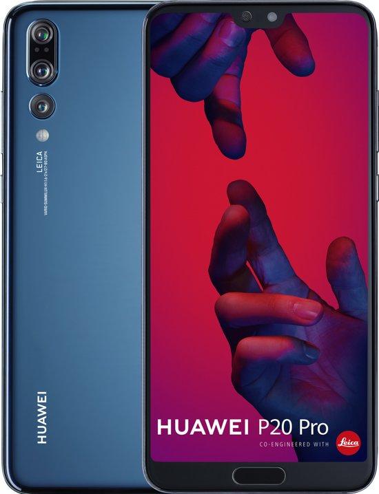 Huawei P20 Pro - 128GB - Dual Sim - Blauw