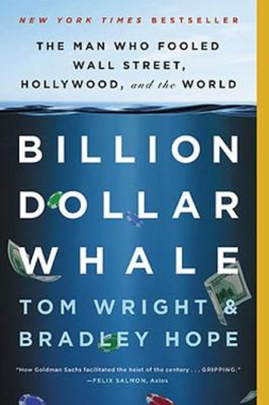Boek cover Billion Dollar Whale van Bradley Hope (Paperback)