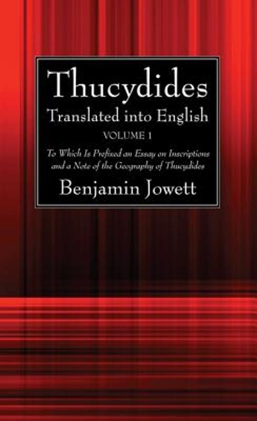 Thucydides Translated Into English (2 Volumes)