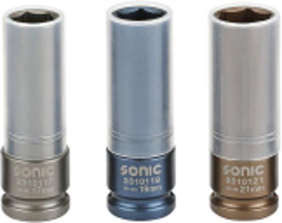 SONIC doppenset 17-19-21mm