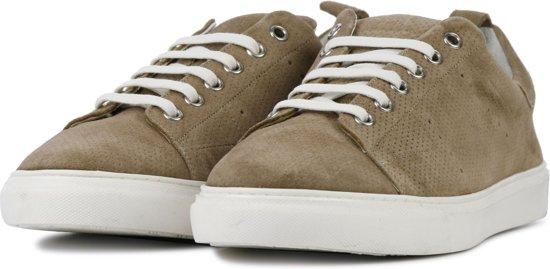 Mannen Giuseppe 1Beige Sneakers Maat 43 Maurizio A020 wN8n0vm
