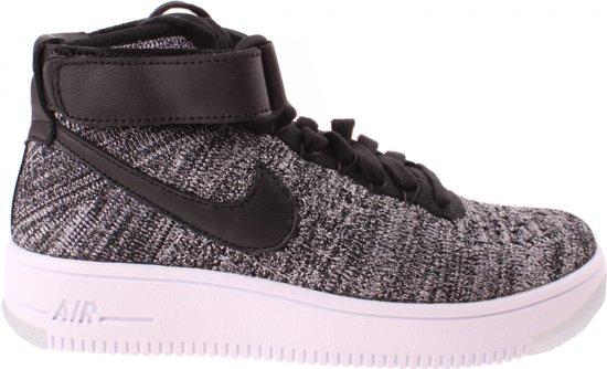 the latest b1852 73d03 Nike Sneakers Air Force 1 Flyknit Dames Zwartgrijs Maat 36,5