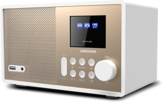 MEDION® LIFE E85059 WiFi Internet Radio (wit)