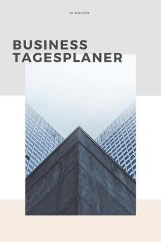 Business Tagesplaner 52 Wochen