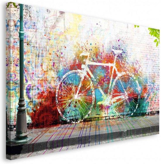 REINDERS Fiets - Schilderij - 118x70cm