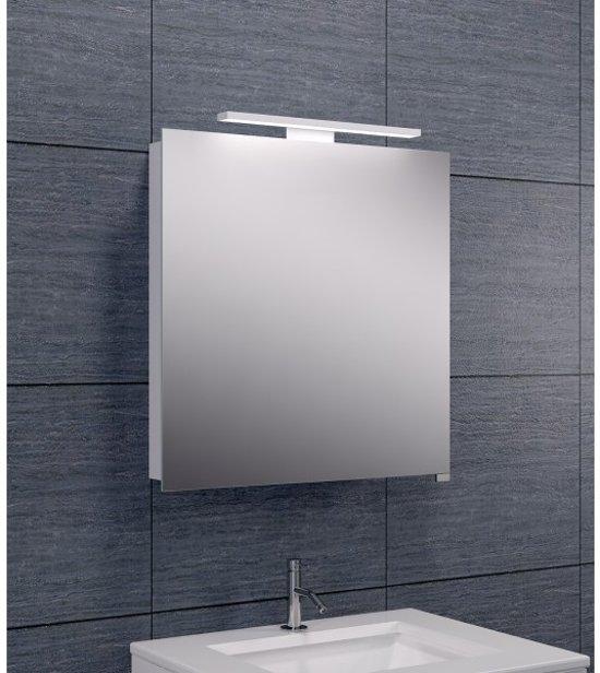 wiesbaden luxe spiegelkast led verlichting 60x60x14cm