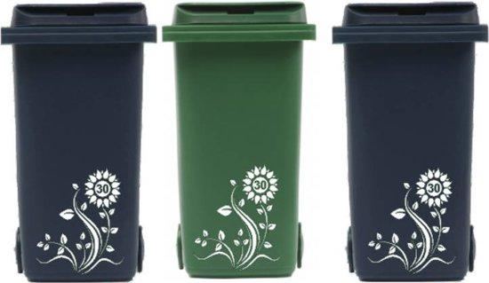 Top bol.com | Voordeelset 3 x sticker kliko / container bloem met VH33