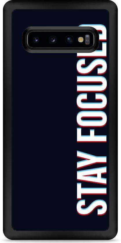 Galaxy S10 Plus Hardcase hoesje Stay Focused