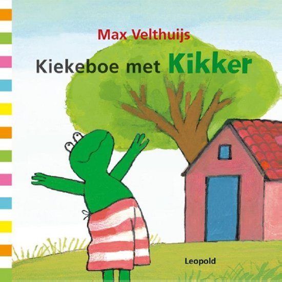 Boek cover Kikker - Kiekeboe met Kikker van Max Velthuijs (Hardcover)