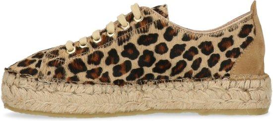 Sacha - Dames Platform Sneakers Met Panterprint