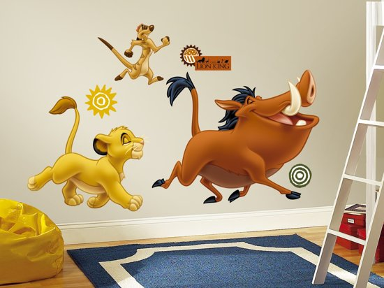 RoomMates Disney The Lion King - Muurstickers - Multi