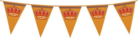 18 stuks: Reuzenvlaggenlijn Koningsdag - 8m