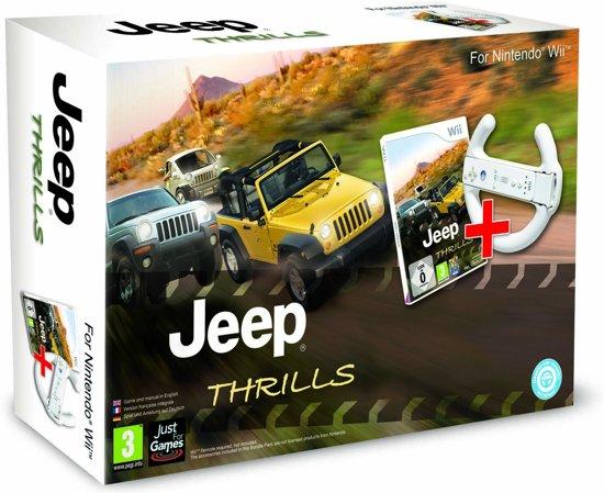 Jeep Thrills + Racestuur (bundel) Wii