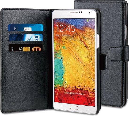 BeHello Wallet Case voor Samsung Galaxy Note 4 - Zwart in Vinderhoute
