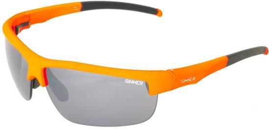 Sinner Antigua + 2 extra lenzensets & Case - Sportbril - Oranje