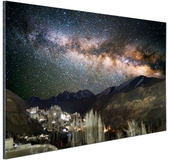 FotoCadeau.nl - Lamayuru klooster India Aluminium 120x80 cm - Foto print op Aluminium (metaal wanddecoratie)