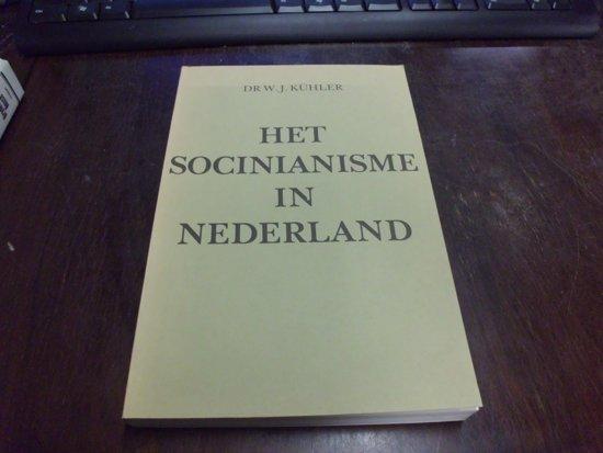 Boek cover Socinianisme in nederland van Kuhler (Onbekend)