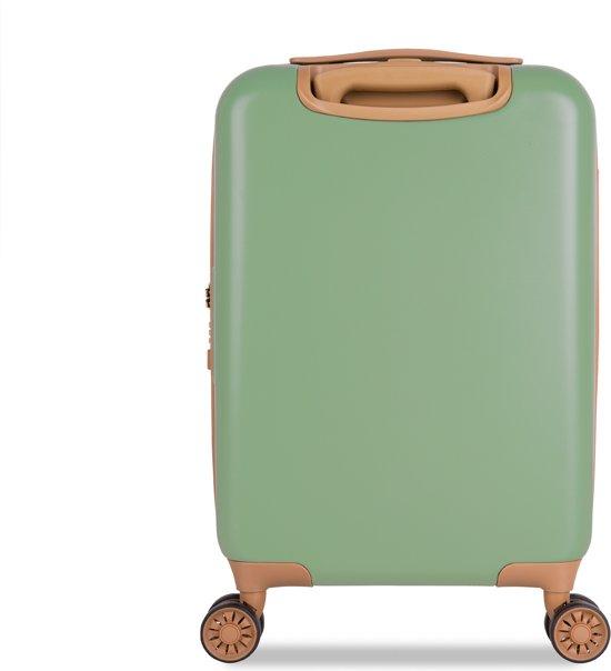 0272e48c697 bol.com | SUITSUIT Fab Seventies Handbagagekoffer - 55 cm - Basil Green