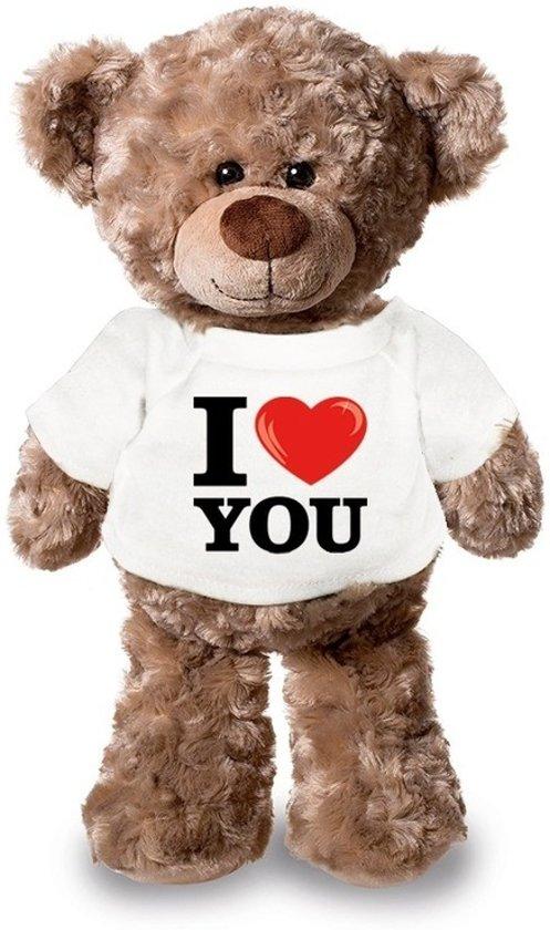 Bolcom Knuffelbeer I Love You 24 Cm Valentijn