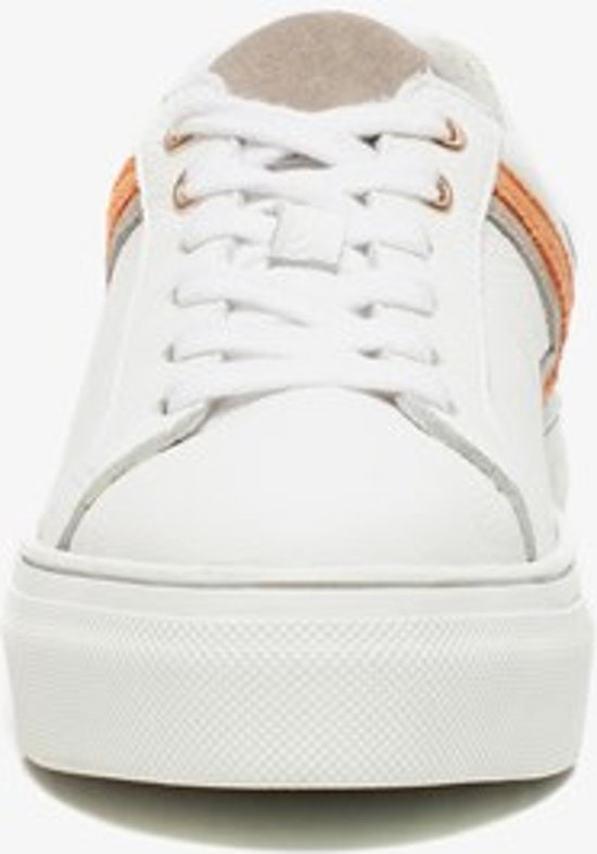 Twoday Leren Dames Sneakers - Wit