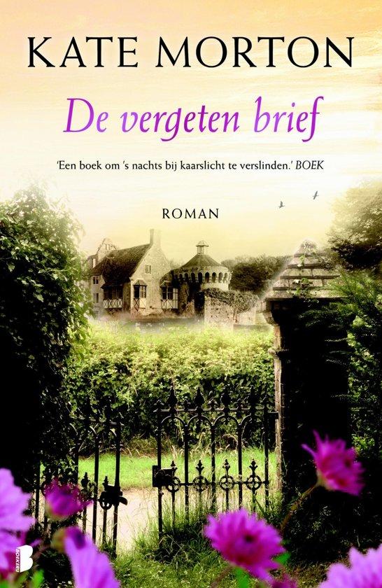 Boek cover De vergeten brief van Kate Morton (Onbekend)