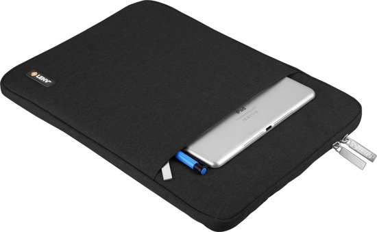 Nylon - laptop Sleeve 16 inch / Zwart