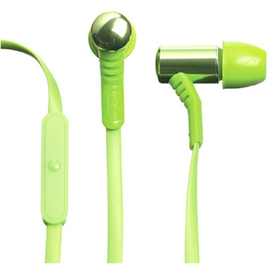 Celly Earphones Stereo 3.5 mm Green 27977a30e0