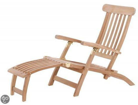 garden teak ligbed teakhouten deckchair. Black Bedroom Furniture Sets. Home Design Ideas