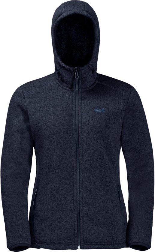 Wolfskin Lakeland Jacket Jack Midnight Blue Dames Vest Fleece 8kXPnOw0
