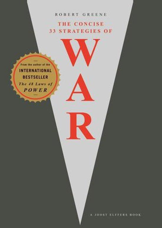 Boek cover The 33 Strategies Of War van Robert Greene (Onbekend)