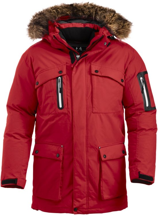 Malamute expeditie parka rood s