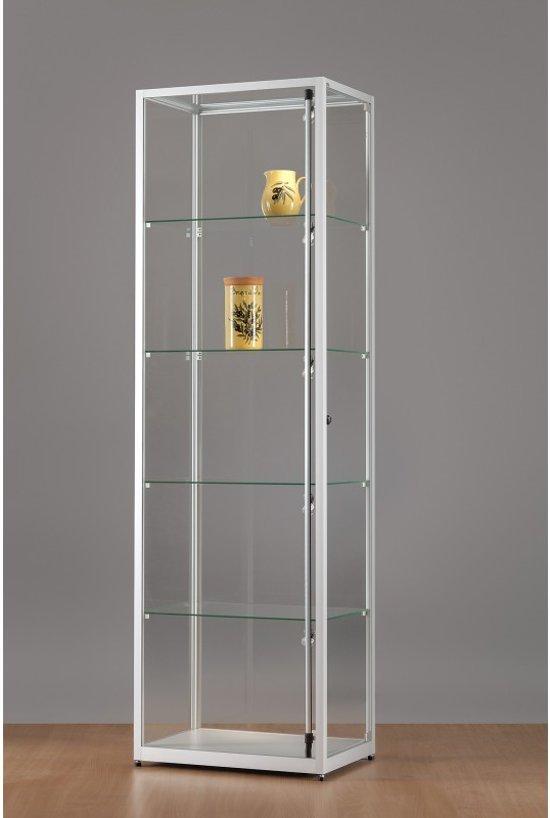 bol.com   Luxe vitrinekast aluminium 60 cm met verstelbaar LED ...