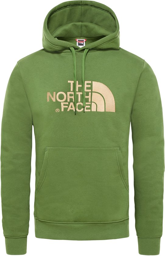 Drew The North Hoodie Trui Garden Heren Peak Face Green Pullover wHEBHr